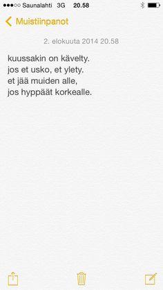 päivän runo 31.7.2014
