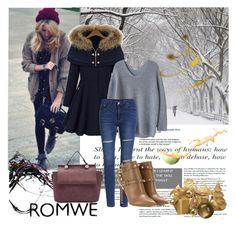 """""""Romwe 1"""" by aida-1999 ❤ liked on Polyvore featuring Valentino"""