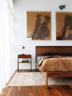 Gorgeous midcentury modern bedroom