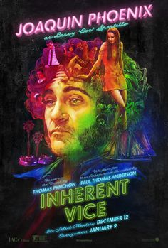 "Joaquin Phoenix is Larry ""Doc"" Sportello. #InherentVice"
