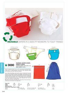 Diaper patterns