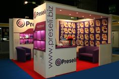 Exhibition Stand: Stand designed, built and installed for Preseli at the 2014 Trade Only National Show, at Ricoh Arena, Coventry www.ddex.co.uk