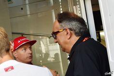 Sergio Marchionne wünscht sich die wahre Pace des Kimi Räikkönen wieder entfesselt zu sehen - Foto: Sutton