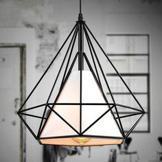 Unique Home Wrought Iron Chandelier Ceiling Fixture Lamp Light Pendant Lighting /