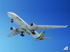 Alitalia New Livery 2015