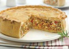 Cómo hacer tarta de atún Seafood Recipes, Dinner Recipes, Fish And Seafood, Wok, Deli, Casserole Recipes, Apple Pie, Tapas, Food And Drink