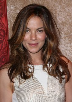 Michelle Monaghan - Stars at HBO's Golden Globes Afterparty - love the face framing highlights