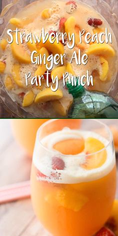 Punch Made With Ginger Ale White Grape Juice Peaches - she. Sherbet Punch Made With Ginger Ale White Grape Juice Peaches - she., Sherbet Punch Made With Ginger Ale White Grape Juice Peaches - she. Dessert Drinks, Fun Drinks, Yummy Drinks, Healthy Drinks, Healthy Food, Food And Drinks, Nutrition Drinks, Healthy Detox, Fun Summer Drinks Alcohol