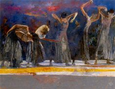 The Royal Ballet by Robert Heindel 1938-2005 American painter
