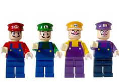 Super Mario LEGO- Carson and Cooper would freak out if I could find these for Christmas
