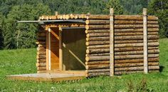 Yeta Mimetic Eco-Hut by Flavio Galvagni Tiny House Cabin, Tiny House Living, Cabin Homes, Tiny Houses, Metal Shed, Off Grid Cabin, Potting Sheds, Shipping Container Homes, Off The Grid