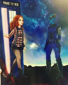 "4,186 Likes, 67 Comments - Karen Gillan (@karengillanofficial) on Instagram: ""When Amy Pond meets Nebula and worlds collide and I feel schizophrenic #doctorwho #gotgvol2…"""
