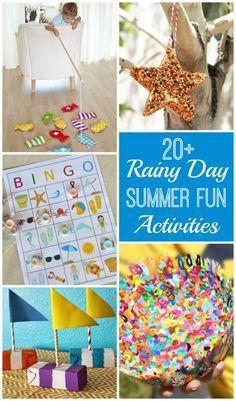20 Rainy Day Summer