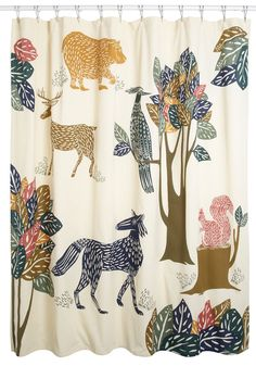 Forest Act of the Day Shower Curtain, #ModCloth