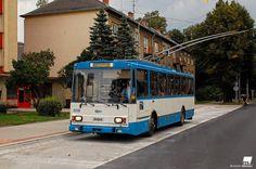 Ostrava Skoda 14Tr Buses And Trains, Rail Transport, Busse, Transportation, Urban, Cars, Vintage, Design, World