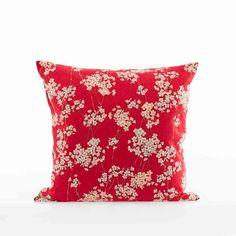 Kissen Shikaku | klassisches japanisches Muster | 100% Baumwolle | aus Kyoto und Hamburg | Akiko #japanese #pillow #home #decor
