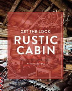 Swooning over the country cabin aesthetic? Swooning over the country cabin aesthetic? Try these necessities to get you effectively in your approach Mountain Cabin Decor, Rustic Cabin Decor, Western Decor, Rustic Cabins, Rustic Wood, Log Home Interiors, Rustic Interiors, Cabins In The Woods, Rustic Style