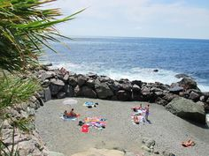 Private beach at #lafrancescaresort #cinqueterre