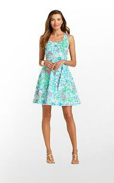 Pretty Lilly Pulizter dress - love this print