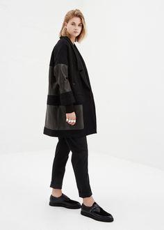 Totokaelo - Rachel Comey Black Karloff Coat
