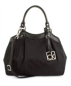 Calvin Klein Handbag, Hudson Signature Satchel Bolsas Da Calvin Klein,  Bolsas Mochila, Me ad0b947815