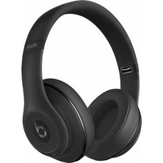 Beats by Dr. Dre Beats Studio2 Wireless Over-the-Ear Headphones Black... (19935 RSD) ❤ liked on Polyvore featuring accessories, tech accessories, beats by dr dre headphones and beats by dr. dre