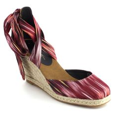 d4459afaa3f7c C Label Womens Lace Up Criss Cross Espadrille Wedge Sandal    Read more at  the image link. (This is an affiliate link and I receive a commission for  the ...