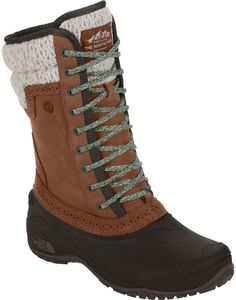 The North Face Shellista II Mid Boot Womens - Winter Boots - Ideas of Winter Boots - The North Face Shellista II Mid Boot Women's Dachshund Brown/Demitasse Brown Warm Winter Boots, Cold Weather Boots, Fall Winter, North Face Women, The North Face, Doc Martens Boots, Waterproof Winter Boots, Duck Boots, Cool Boots