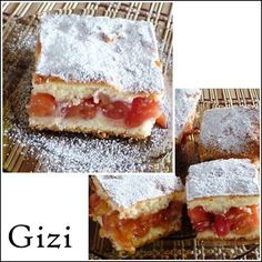 Gizi-receptjei.  Várok mindenkit.: Cseresznyés pite