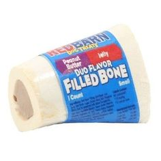 DOG TREATS - CHEW BONES - DUO FILLED BONE PEANUT BUTTER/JELLY - SMALL - REDBARN PET PRODUCTS,INC. - UPC: 785184413104 - DEPT: DOG PRODUCTS