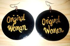 Original Woman Earrings by BOABW on Etsy