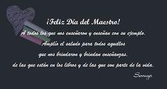 Amor al Arte: Muy Feliz Día Del Maestro -  #FelizDíaDelMaestro #FelizDiaDelMaestro #FelizDíaMaestros #FelizDiaMaestros #maestros #maestro