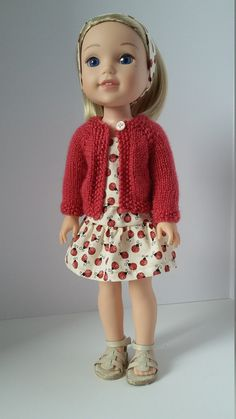 Wellie Wishers doll clothes Lady Bugs by Grandmasadiescloset