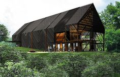 bensozia: Wild Turkey Bourbon Visitors Center by De Leon & Primmer