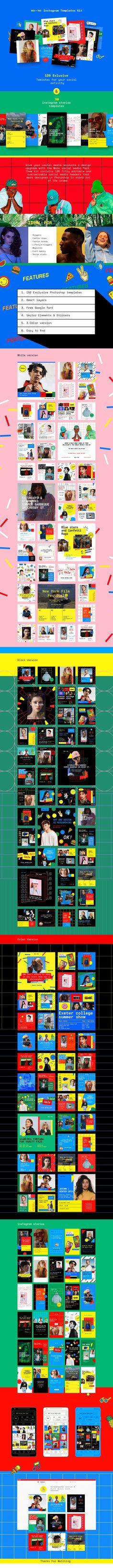 Mono Instagram Templates Kit