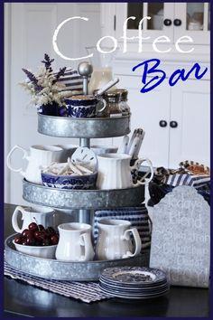 Coffee Bar/Tea Bar - Coffee Bar/Tea Bar  Repinly Home Decor Popular Pins