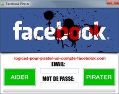 Comment pirater un compte facebook ? Pensez vous que ce site marche vraiment ? http://pirater-facebook-logiciel.com