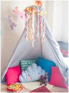 DIY σκηνή για το δωμάτιο των αγοριών
