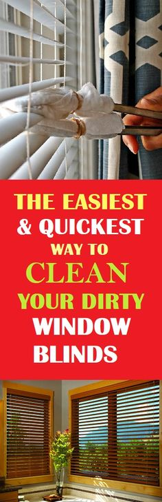 Fastest Way To Clean Your Window Blinds #cleaning #cleaningtips #clean #cleaninghacks