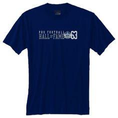Pro Football Hall of Fame Logo Huddle T-Shirt. Click to order! - $19.99