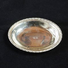 Excited to share the latest addition to my #etsy shop: Vintage Oval Handmade Silver platter trinket dish Venetian decoration Italy http://etsy.me/2BgSuIy #housewares #homedecor #silver #trinketdish #silvertrinketdish #vintageplatter #venicestyle #50s #silverplatter