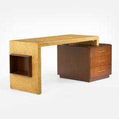 Paul Frankl, desk for Johnson Furniture Co.,1945.
