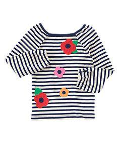 Poppy Stripe Tee - Gymboree