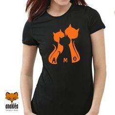 Camiseta - Família Gato