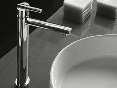 Signorini ELIS 90303600 Miscelatore per lavabo senza scarico  metallo finitura nero, bianco, cromo lucido