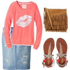 Patience padgett on Pinterest made this by patiencevirtue on Polyvore featuring polyvore, fashion, style, Victoria's Secret, Uniqlo, Aéropostale and Polo Ralph Lauren