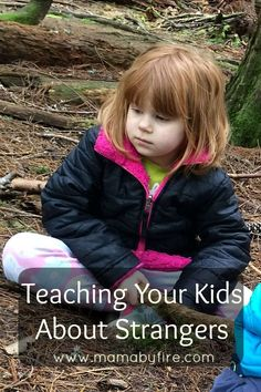 It's not a fun subject, but it is so necessary to teach your kids about Strangers.