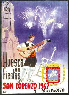 Fiestas de San Lorenzo, año 1967