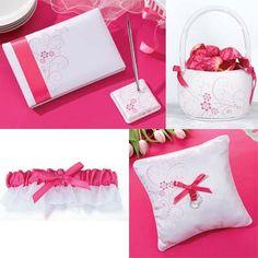 Pink Wedding Supplies