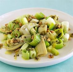 It's Not Just For Soup Base: 15 Healthy and Tasty Ways to Eat Leeks. Italian Artichoke and Leek Salad